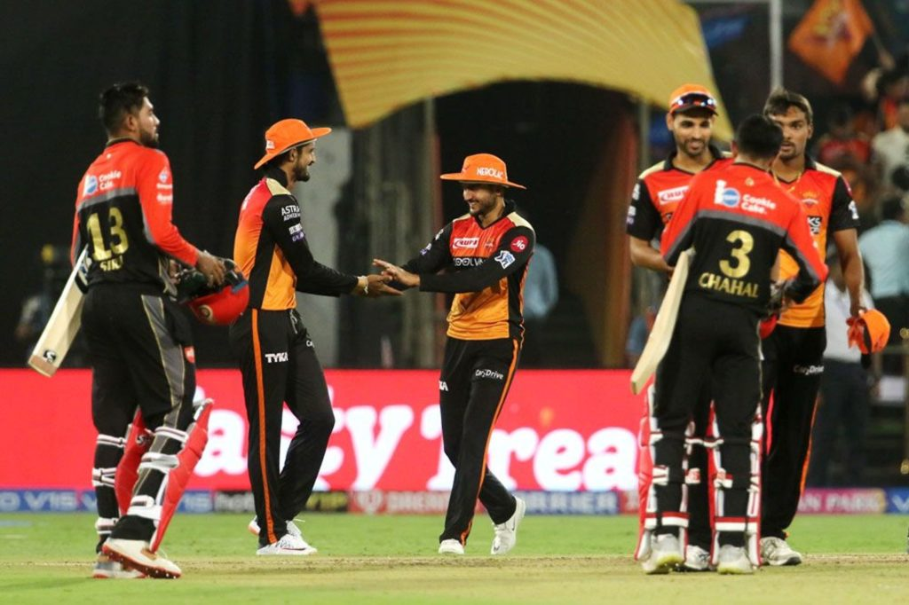 Stats : Statical preview of SRH vs RCB match
