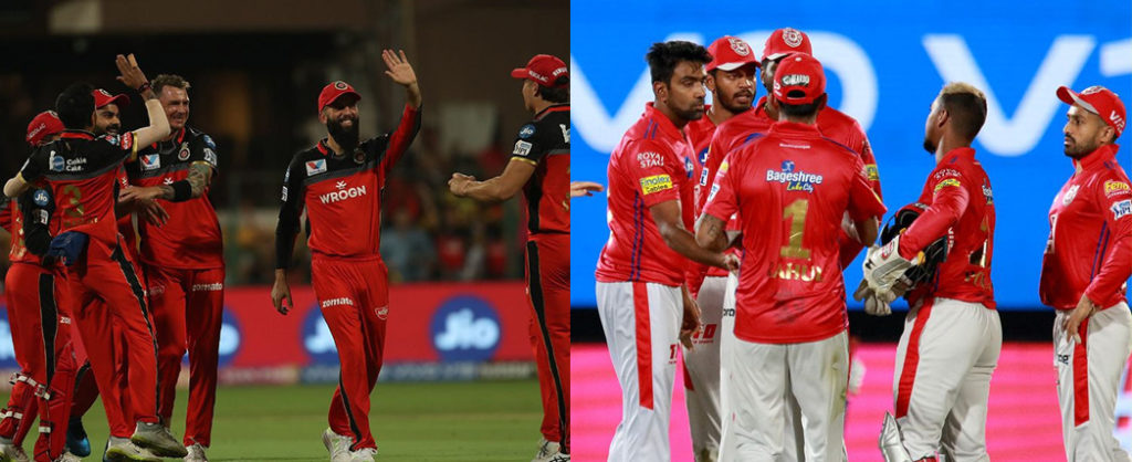 IPL 2019 : Possible Playing XI of RCB and KXIP