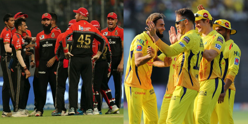 IPL 2019 : Possible playing XI of RCB and CSK