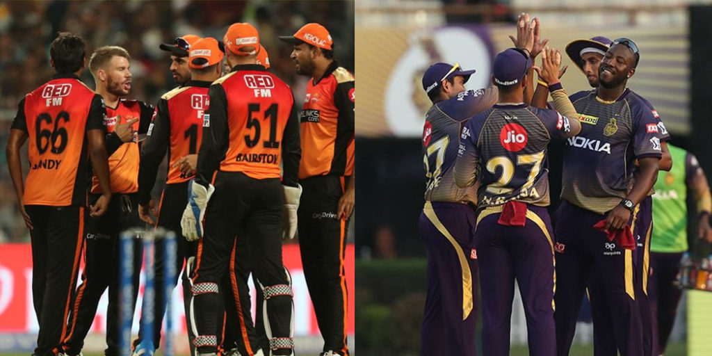 IPL 2019 : Possible playing XI of SRH and KKR