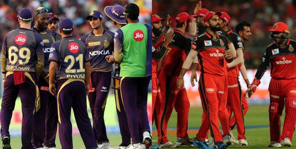 IPL 2019 : Possible Playing XI of KKR and RCB