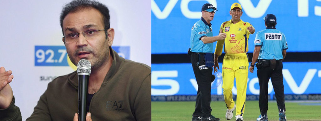 Virender Sehwag : Dhoni should have been banned for at least 2-3 games