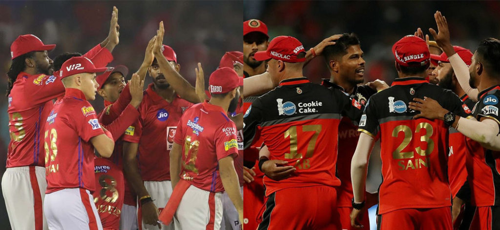 IPL 2019 : Possible playing XI of KXIP and RCB