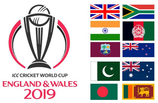 All teams squad for world Cup 2019