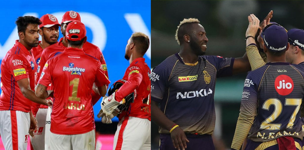 IPL 2019: fantasy cricket XI of KXIP vs KKR match