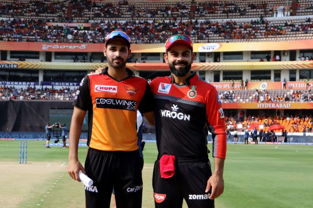 IPL 2019: Possible Playing XI of RCB and SRH