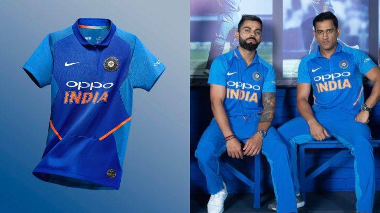 Team India to wear Orange Jersey in World Cup 2019
