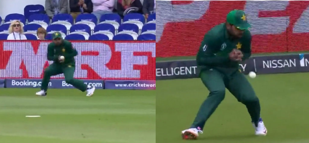 Pakistan dropped some easy catches during the Australia match