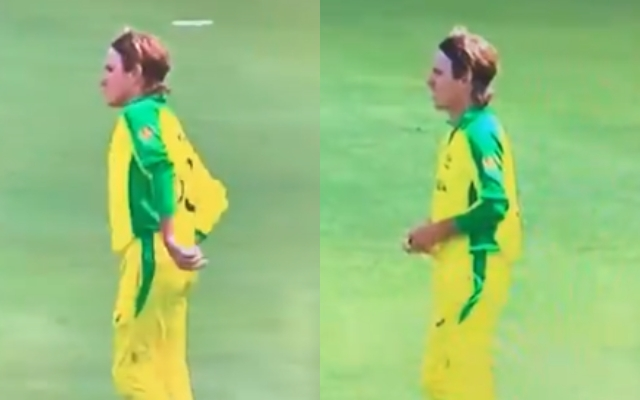 Can Adam Zampa use sandpaper during the India versus Australia match?