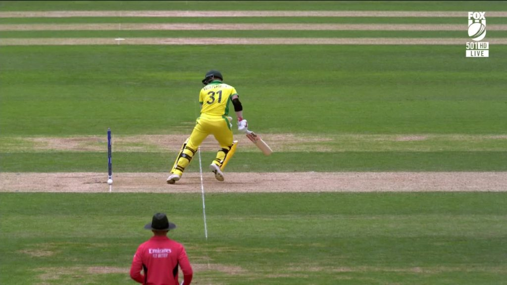 David Warner lucky, bails did not fall off