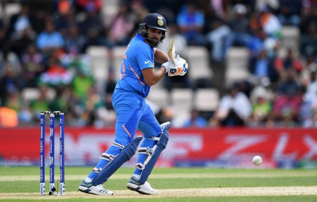 Team India won all the world cup matches against Pakistan. Rohit Sharma scored a century. He won the player of the match award.