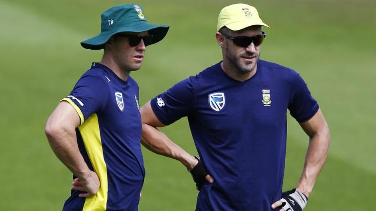 It was just a conversation on the phone: Faf Du Plessis