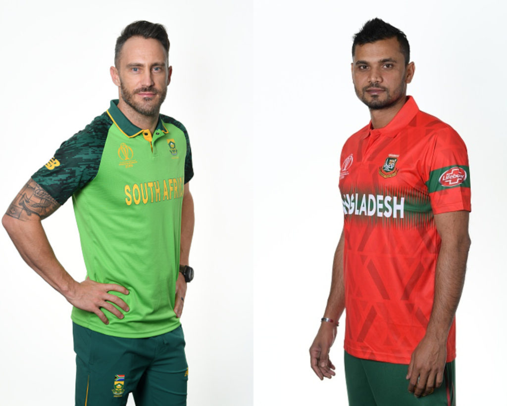 World cup 2019: 5th match, South Africa vs Bangladesh