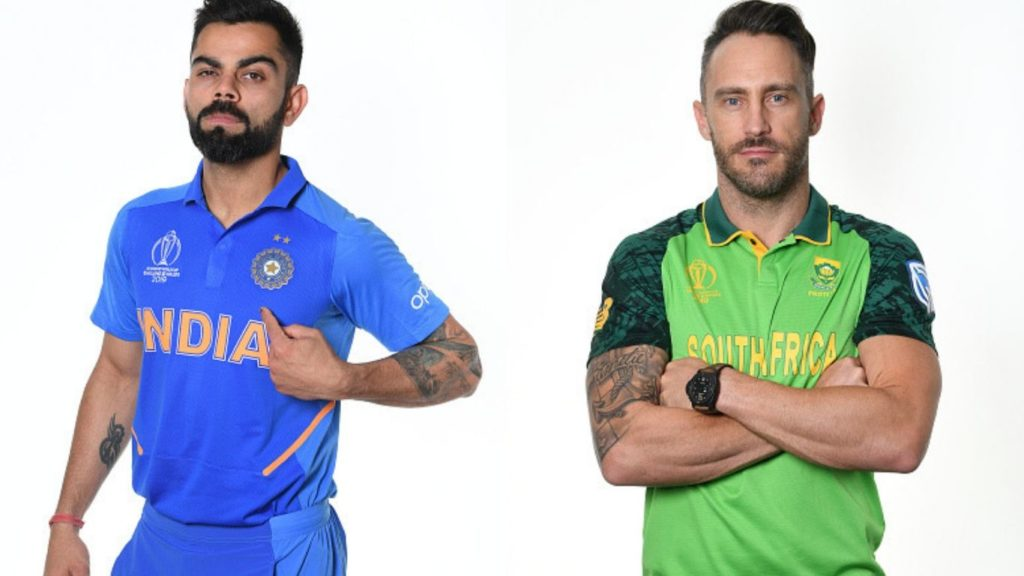 World cup 2019: match 8, India versus South Africa