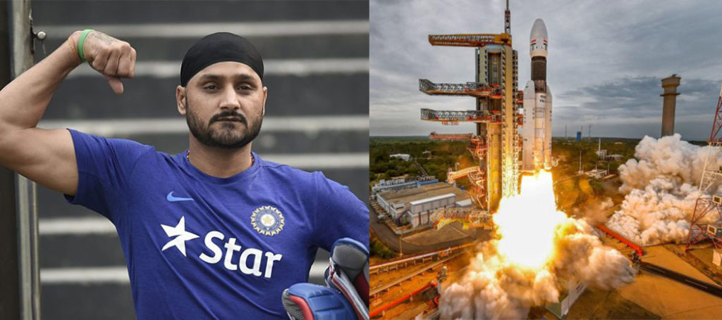 Harbhajan Singh trolls Pakistan after Chandrayaan-2 Launch