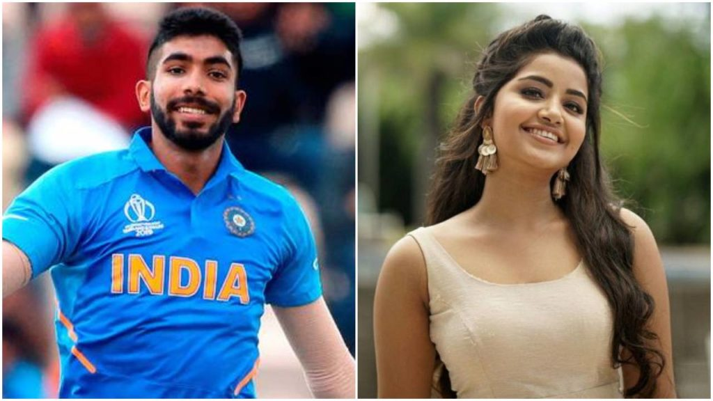 Is jasprit Bumrah dating Actress Anupama Parameswaran?