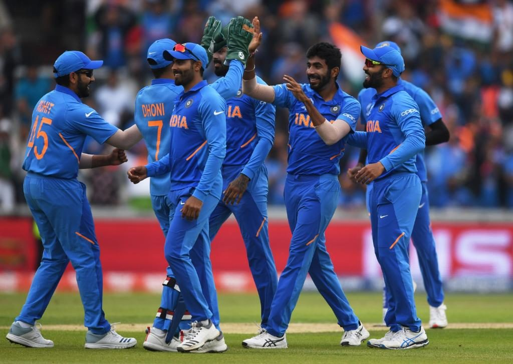 India lost a review in the first over of the match