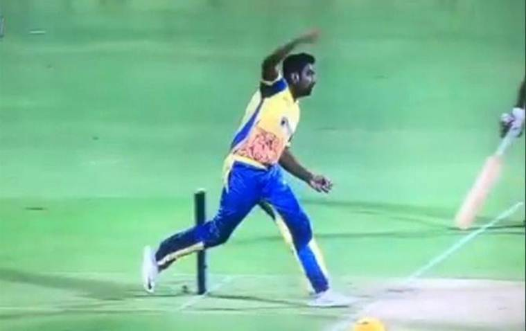R Ashwin again invents a new bowling action In TNPL