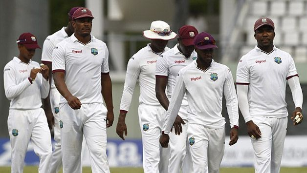West Indies announced test squad for India series
