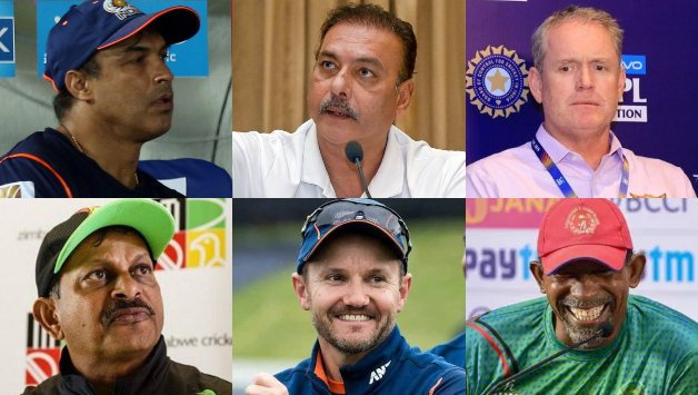 BCCI shortlist six names for Team India's head coach