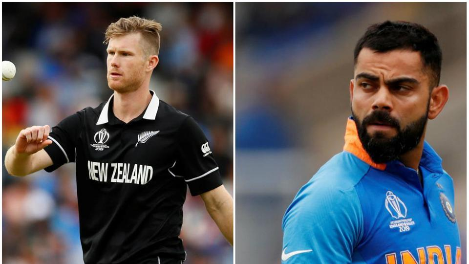 Jimmy Neesham Takes a cheeky dig at Virat Kohli after Rory burns' century