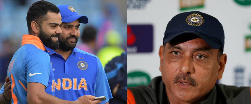 I feel it is absolute nonsense: Ravi Shastri on Kohli-Rohit Rift Rumours