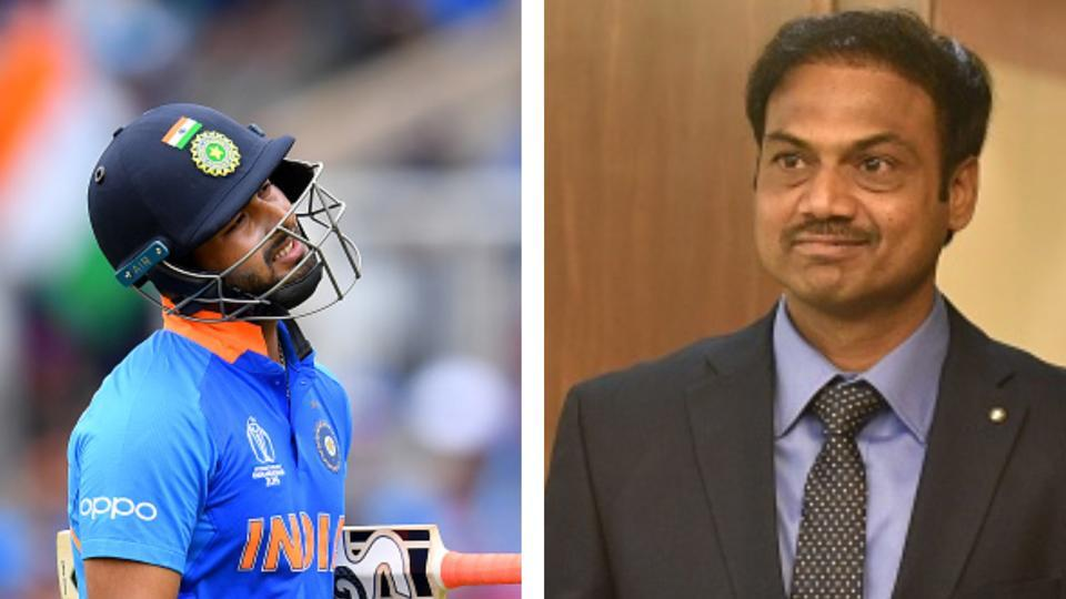 We need to be patient with Rishabh pant: chief selector MSK Prasad