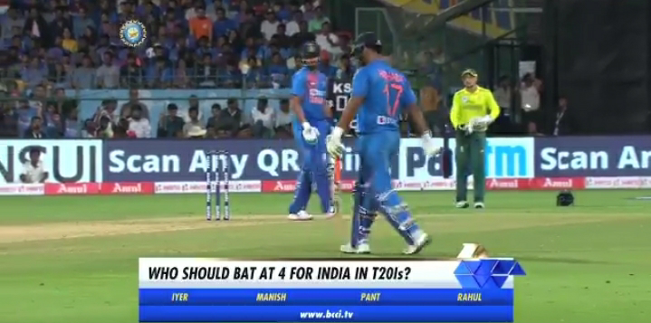 Who should bat at number 4 for India in T20Is?