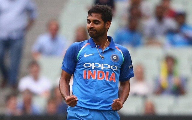 Bhuvneshwar Kumar suffering from a hamstring injury