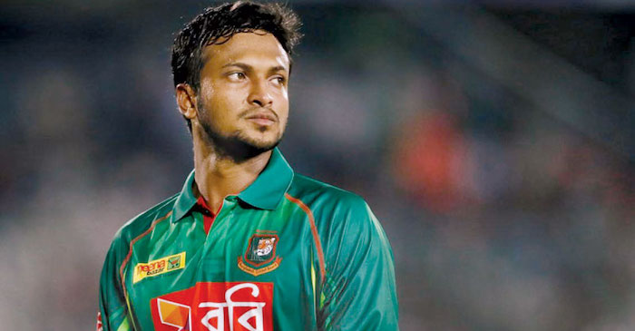 Shakib Al Hasan banned from International cricket for two years