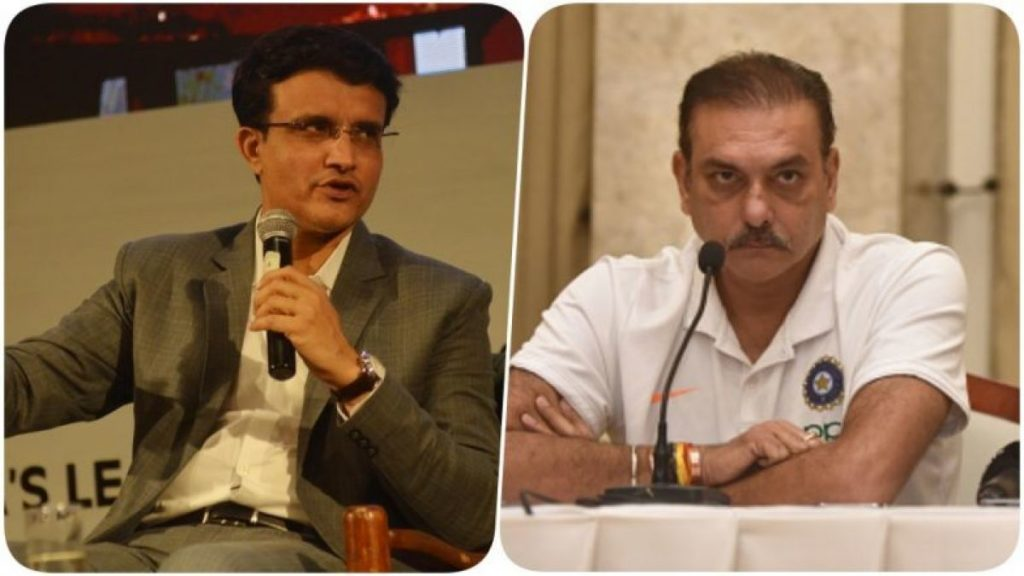 Ravi Shastri Congratulates Sourav Ganguly on Becoming BCCI president