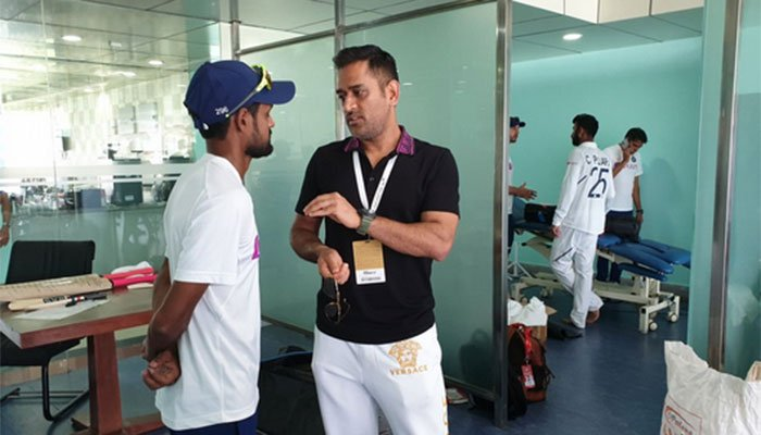 Shahbaz Nadeem reveals what MS Dhoni said after the third test