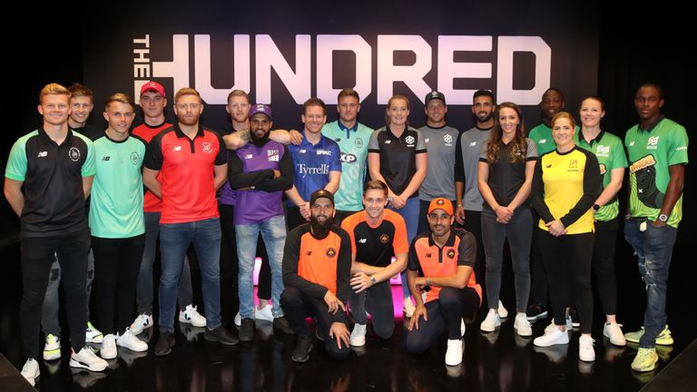 The squad of The Hundred teams