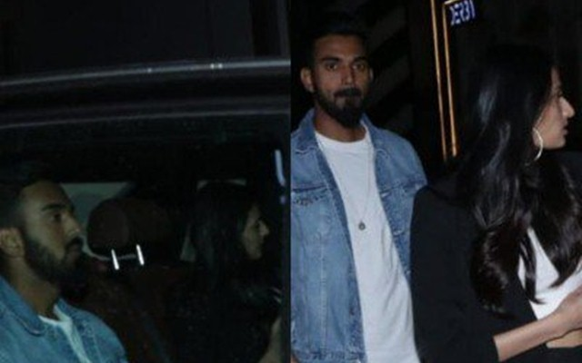 KL Rahul steps out with Athiya Shetty for a dinner date