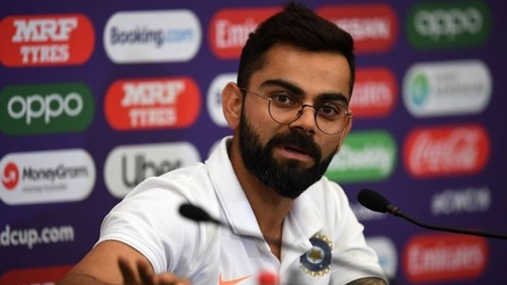 Virat Kohli reply to a funny question by a little girl regards of playing Test matches with white ball