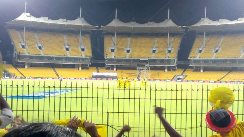 Three stands at Chepauk likely to open before India versus West Indies match