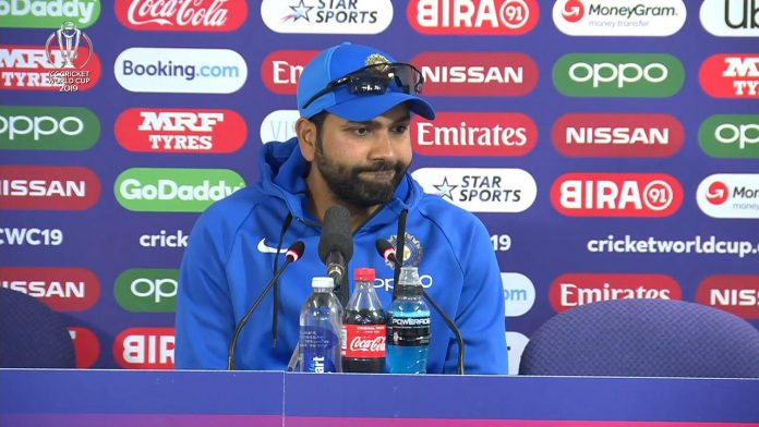 Rohit Sharma gives an epic reply to reports who asks him about Farokh engineer's comment