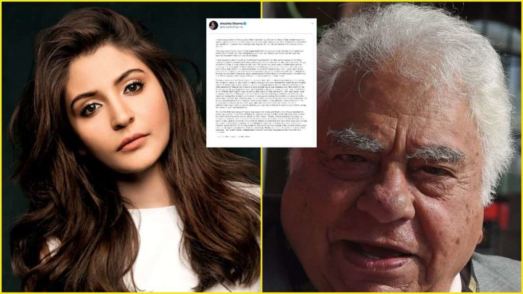 Anushka Sharma comes with an epic reply to Farokh Engineer