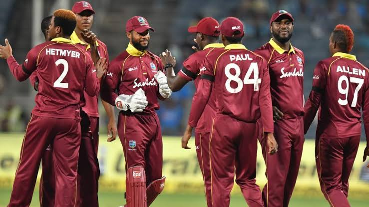 West Indies announced their squad for India Tour