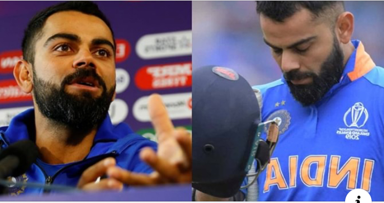 King Kohli admits, blames his inner ego for his failure in the crucial semi-final match against New Zealand