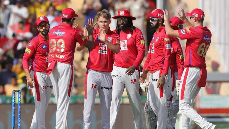 What they had at the start of the auction: Kings XI Punjab