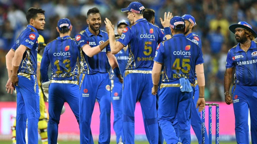 What they had at the start of the auction: Mumbai Indians