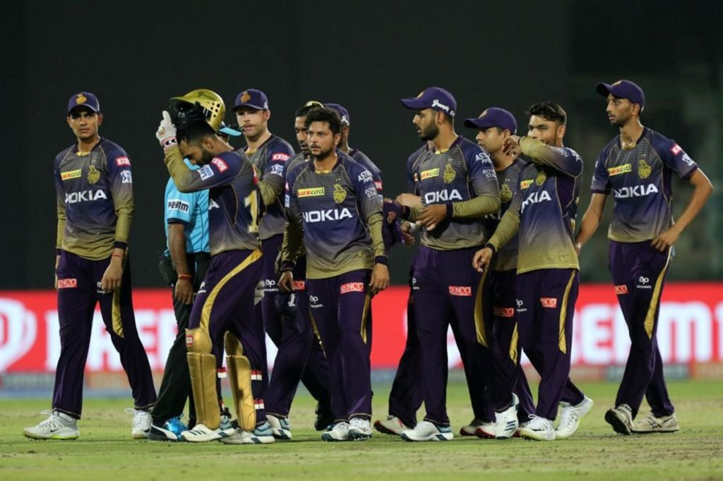 What they had at the start of the auction: Kolkata Knight Riders