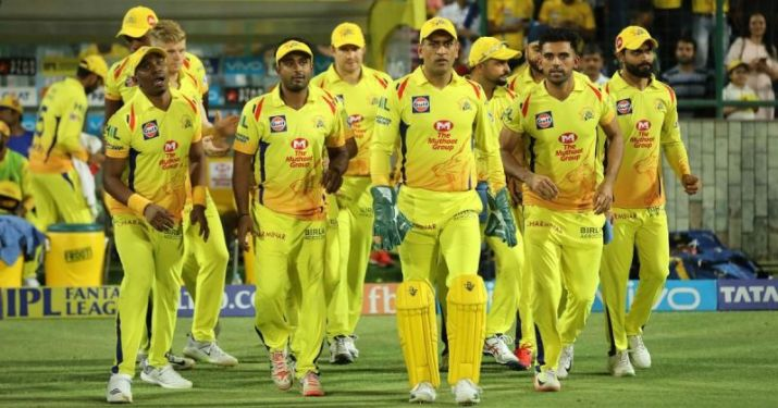 What they had at the start of the auction: Chennai Super Kings