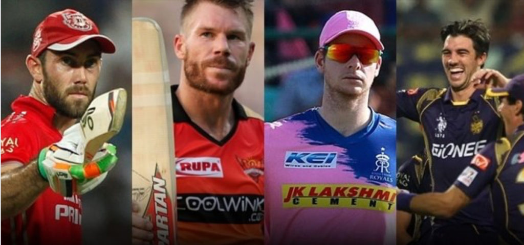 Maxwell, Smith, Cummins, Williamson might miss starting matches of the IPL