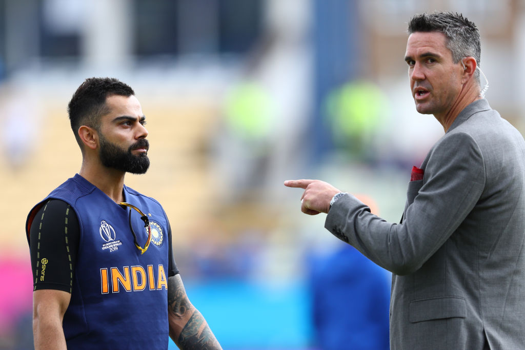 Kevin Pietersen reacts to a throwback picture of Virat Kohli