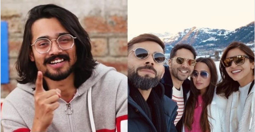 "Bhuvan Bam invites Viru-shka to have ""Chole-Bhature"" in Delhi"
