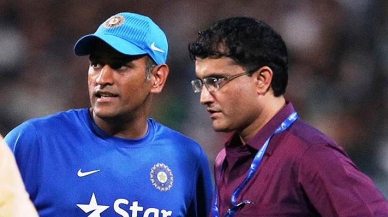 Sourav Ganguly mentioned that there is absolute clarity over MS Dhoni's future