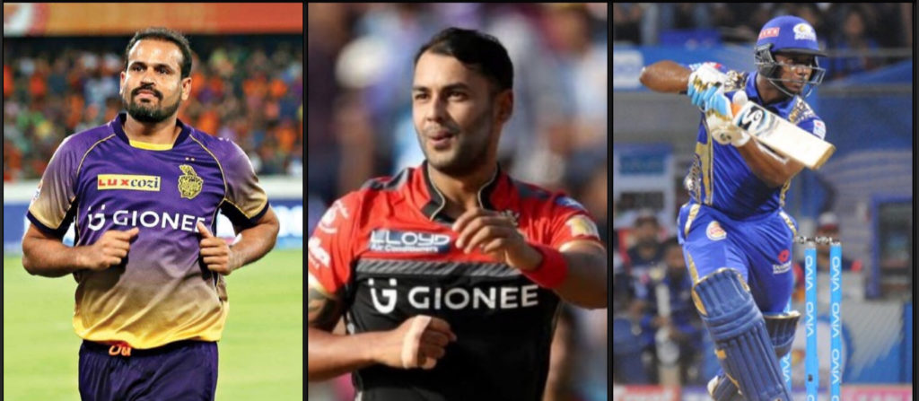 Unsold XI of the IPL auction 2020