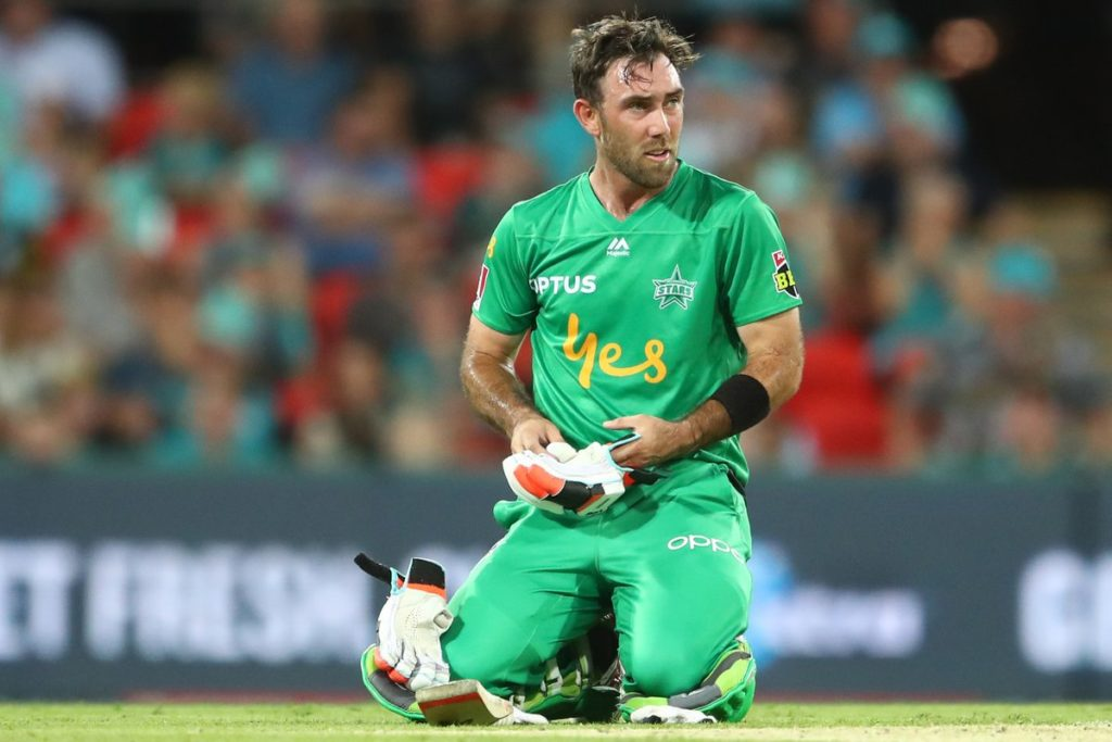 Watch Maxwell hitting unbelievable six over point